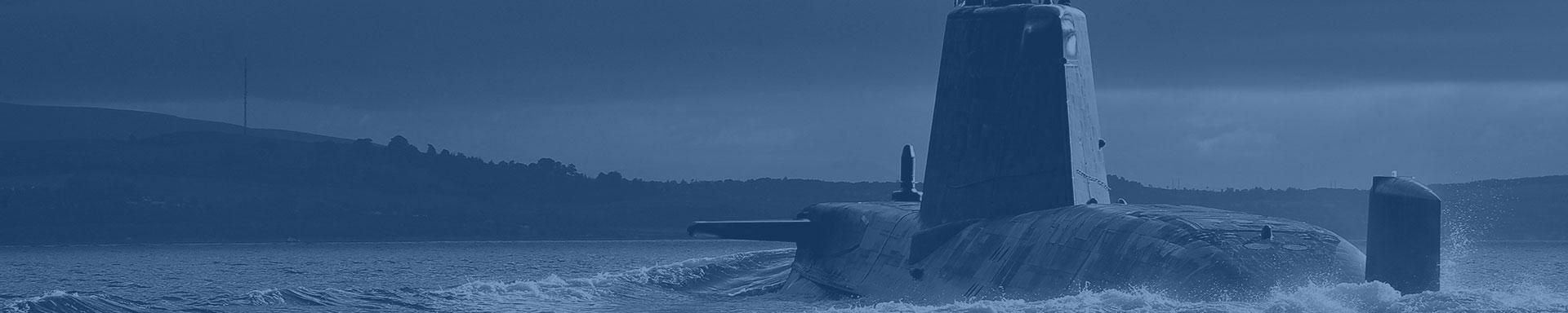 Submarine background image