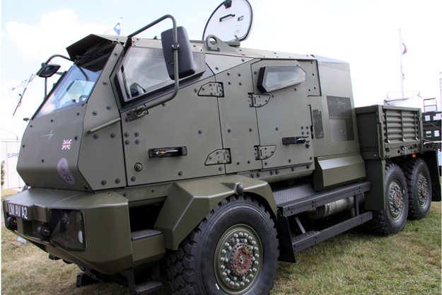 Military Vehicle Components
