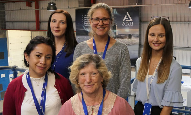 Some of the Aish Women in Engineering