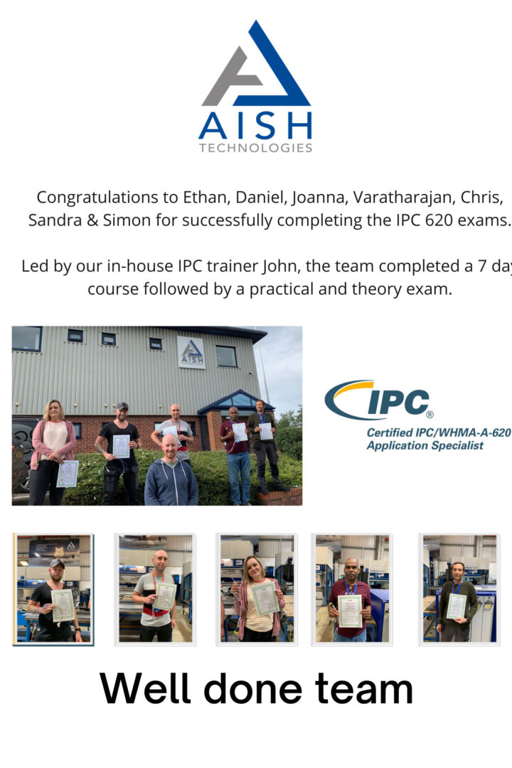 IPC exam success for employees